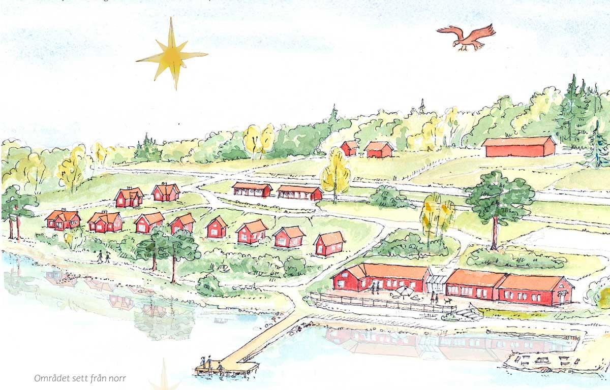 Vision Läppe Byahus med tillhörande bostäder